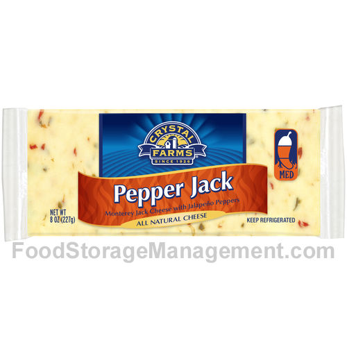 pepper jack cheese nutrition