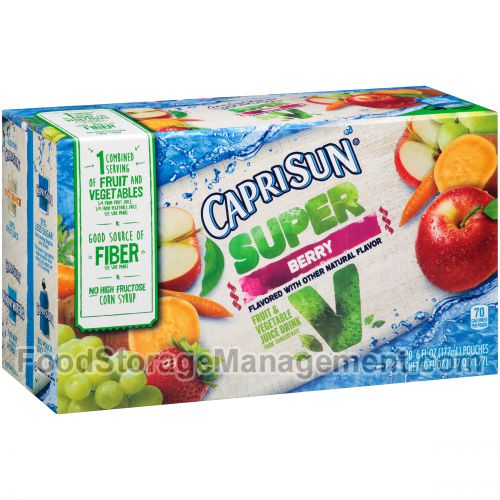 Caprisun Super V Berry Fruit & Vegetable Juice Drink