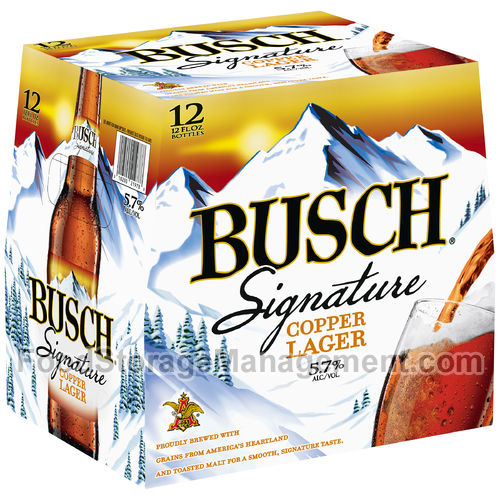 Busch Signature Copper Lager 12 fl oz Beer