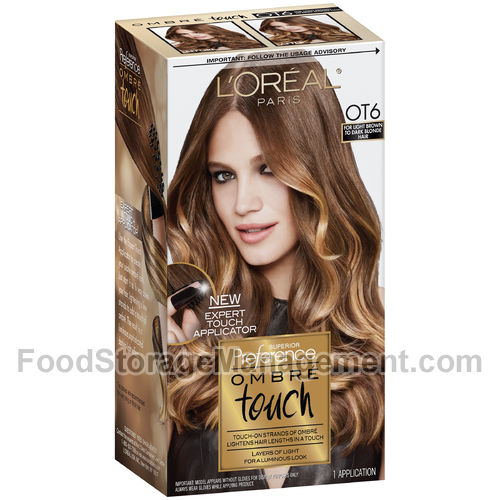 Light Brown Hair Color Box Dye
