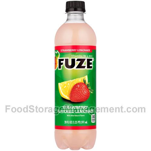 Fuze Strawberry Lemonade 080793809738 :: Food Storage Management