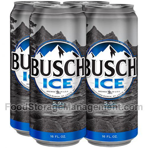 Busch Ice Lager Beer 018200005282 :: Food Storage Management